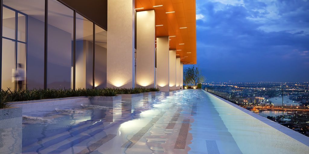 Overflow Swimming Pool Bangkok