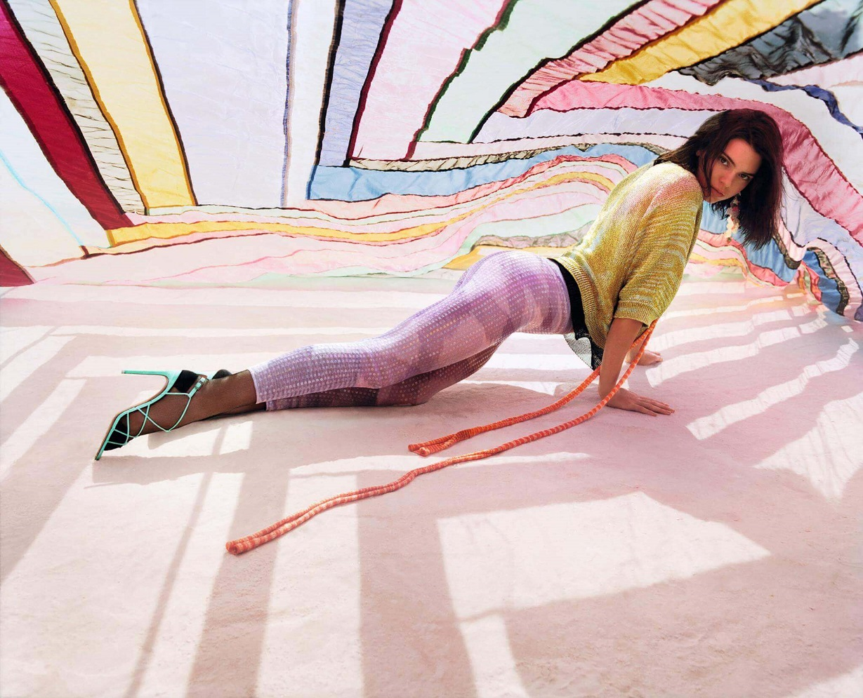 Missoni-SpringSummer-2018-Ads-Feature-Kendall-Jenner-The Silomer