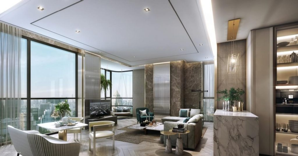 The Reserve Sathorn Living Space