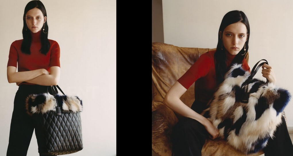 THE FAUX FUR TOTE BAG Givenchy