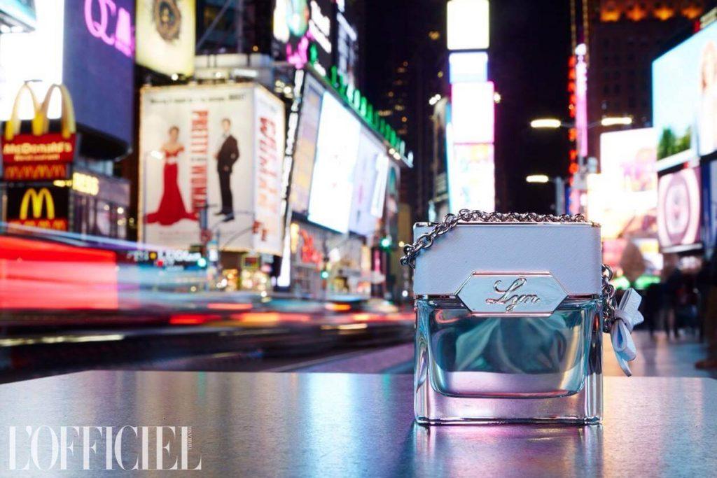 LYN L'Officiel NYC BLEU PINK