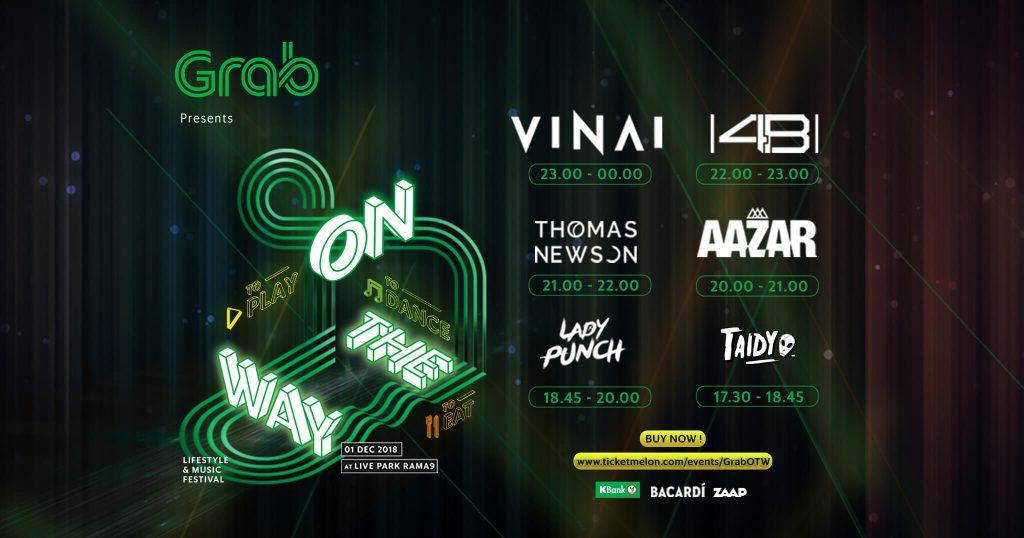 Grab Thailand event