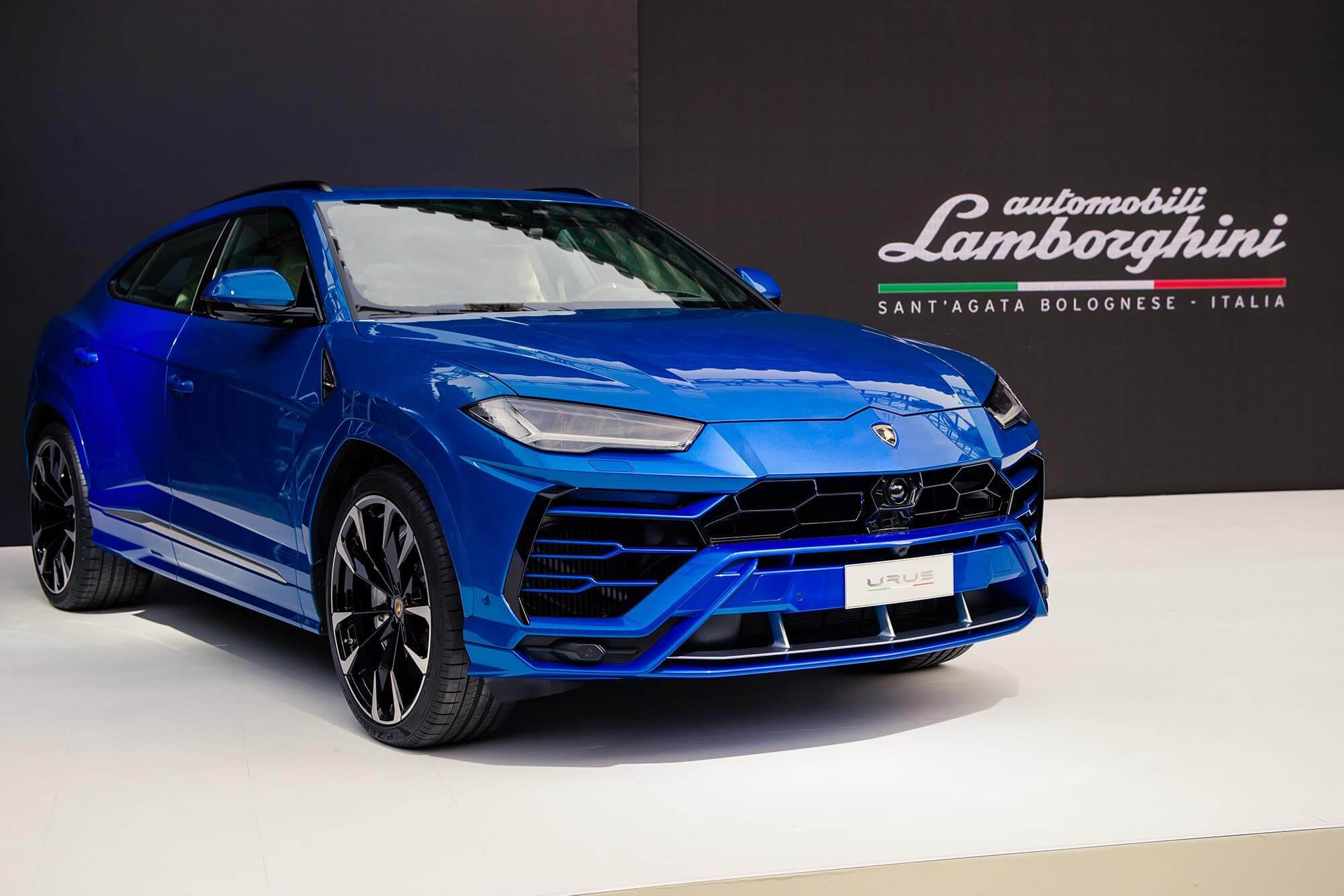 Lamborghini URUS 2018 Thailand