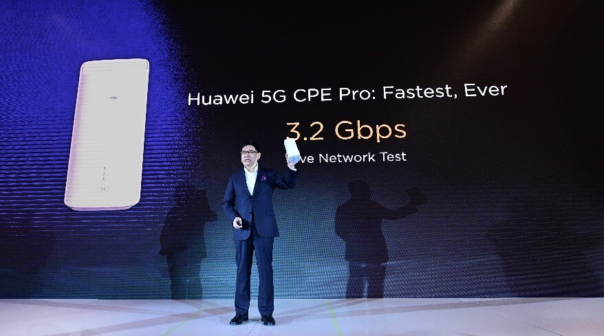 Huawei Launches 5G
