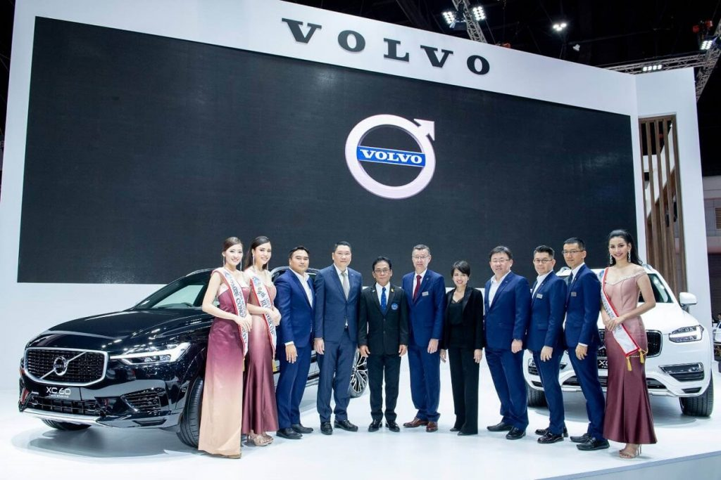 Khun Jaturont Komolmis, Vice Chairman of BIMs 2019 and Mr. Chris Wailes, Managing Director, Volvo Car Thailand